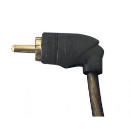 Sport Lampa Coprivolante in pelle L Ø 37/39 cm Nero