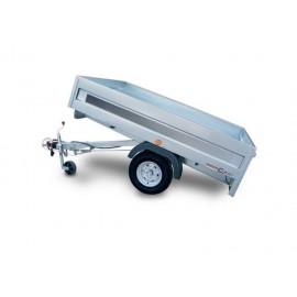 Rimorchi trasporto cose Cresci A6B 750 / 600 Kg