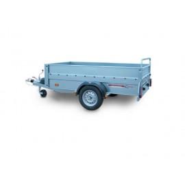 Rimorchi trasporto cose con rampe di salita Cresci Rimorchi PT6CA