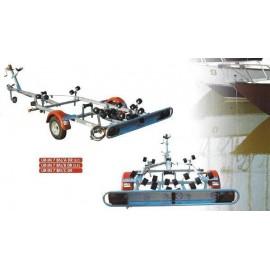 Rimorchio trasporto imbarcazioni basculanti UR-IM 7