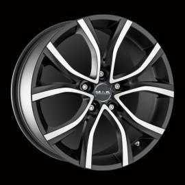 Cerchio in lega 17 NITRO5 ICE TITAN 5x112 Audi A3 2012 ►