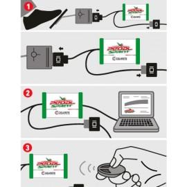 Vernice spray per interni in vinile (similpelle) e pvc - Giallo zafferano