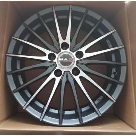 Cerchi in lega 17 Mak Venti 5x115 ET40 7J x 17 70.2 Ice Titan Chevrolet Captiva Opel Astra Zafira