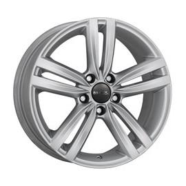 Cerchi in lega 17 Mak Sachsen 5x112 ET47 7.5 x 17 66.45 Silver Audi A3 Seat Leon Skoda Superb VW Golf VII