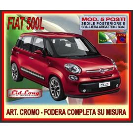 Fodere su misura Lid Long Fiat 500L Panna