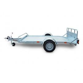 Rimorchi trasporto cose con rampe di salita PT7L