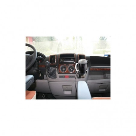 Mascherina con foro ISO Nero Mazda 3 2003 ► 2008