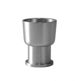 Collare pomello stretto e corto - Ø 28 mm - h 37 mm