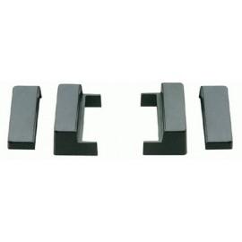 Staffe di fissaggio per autoradio ISO Audi A4 1999 ► 2000 A6 1997 ► 2000