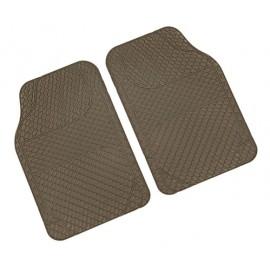 Drena 2, coppia tappeti anteriori universali - Beige