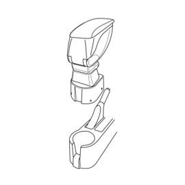 Attacco bracciolo - Hyundai Getz 3p (10/05>01/09) - Hyundai Getz 5p (10/05>01/09)
