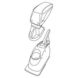 Attacco bracciolo - Nissan Micra (11/10>02/17)