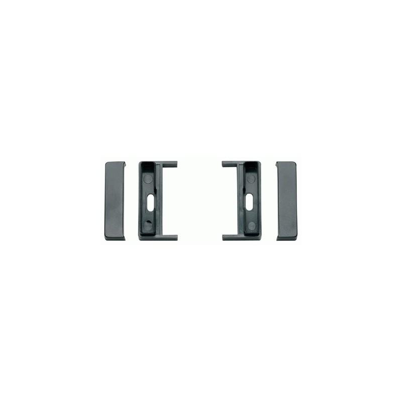 Staffe di fissaggio per autoradio ISO Nero Audi A2 TT 2000 ► A3 A4 ► 2001