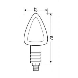 Spazzola Tergicristallo Bosch AeroTwin - immagine indicativa