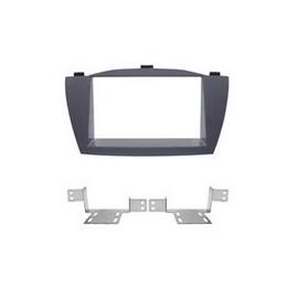 Mascherina Phonocar mod. 3/572 - Doppio DIN Hyundai ix35 colore antracite