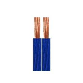 Cavo bipolare Phonocar mod. 4/297 sez. 2x2 mm² - PVC blu trasparente