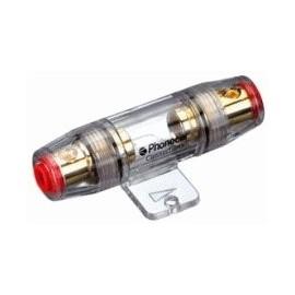 Porta fusibile Phonocar mod. 4/328.3 - ( fusibile 10x38) dorato - 20 pz.