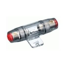 Portafusibile Phonocar mod. 4/486 - 10x38 mm - Nickel