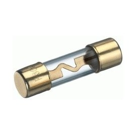 Fusibile dorato in vetro Phonocar mod. 4/523.2 - 10x38 mm - 3A