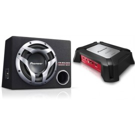 Pioneer GXT-3503B Subwoofer + amplificatore