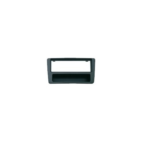 Mascherina Phonocar mod. 3/461 - Doppio ISO colore nero VW / Seat / Skoda