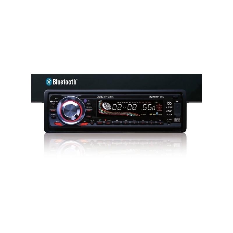 Autoradio Digitaldinamic mod. B50 - Lettore CD MP3 - USB - SD-BLUETOOTH