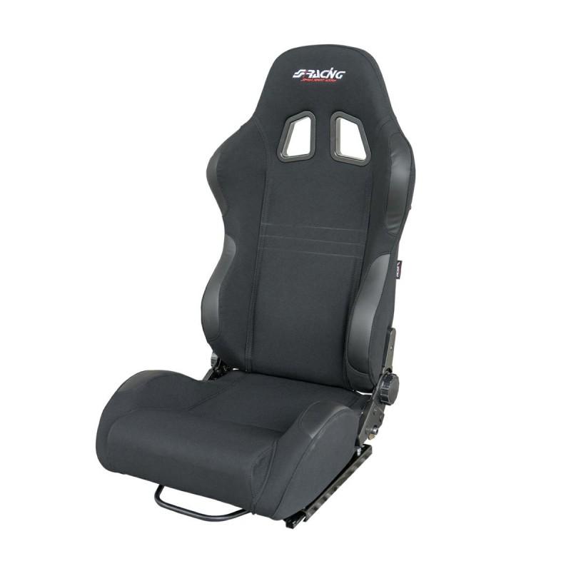 JENSON sedile sportivo in tessuto-1 pz nero / black