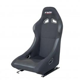 DAMON sedile sportivo in tessuto-1 pz nero / black