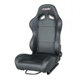 TAZIO sedile sportivo in ecopelle-1 pz nero / black