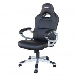 poltrona da ufficio racing style nero/black