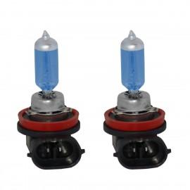 SUPER PLASMA WHITE kit 2 lampadine tipo H11 12V/55W
