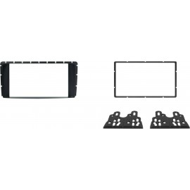 Kit fissaggio 2 DIN colore nero <strong>TOYOTA</strong> Hi-lux 12&gt