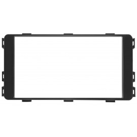 Mascherina autoradio 2DIN Colore nero <br /> Conf. 1 Set <strong>Fiat</strong> Full-Back <strong>Mistubishi</strong> L200 15&gt
