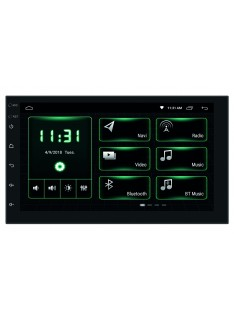"""Mediastation Android Dab+ con Monitor Tft/Lcd 7"""" Touch Screen,con Mappa Europa TRUCK"""