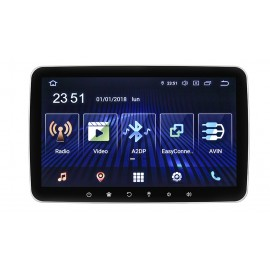 "Mediastation Android 9 Universale con monitor TFT/LCD 10,1"" HD Touch Screen, Mappa Europa Inclusa"