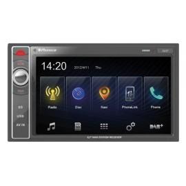 PHONOCAR VM069K Media Station Deckless 6.2 pollici con GPS, Smartphone LinkUSB+ Mappe TRUCK CAMPER