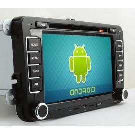 Phonocar VM101 Media Station Android 7'' VW-Seat-Skoda CD-DVD-USB-SD Bluetooth GPS con mappe opzionali
