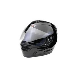 CASCO INTEGRALE LEOX NERO METAL SIZE M