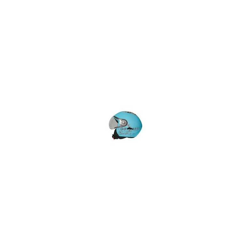 Casco Koji mod. 90949 - Tomcat Turchese mis. L