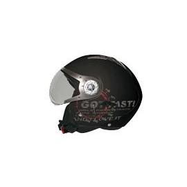 Casco Koji mod. 90896 - Tomcat Nero opaco mis. M