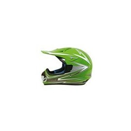 Casco Koji mod. 91081 - Cross Verde mis. S