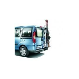 Portascì posteriore specifico Fiat per doblò 00-10 3 paia di sci