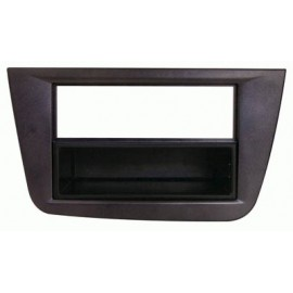 Mascherina con foro 2ISO ISO Nero Seat Altea ► 2011 Toledo FR 2005 ►