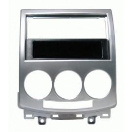 Mascherina con foro 2DIN ISO Grigio Mazda 5