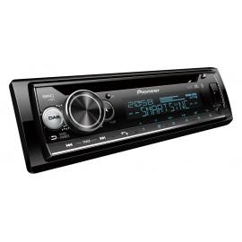 PIONEER DEH-S720DAB Sintonizzatore CD a 1-DIN con DAB/DAB+, Bluetooth, illuminazione Multi Colour, USB, Spotify