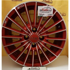 """Kit 4 Cerchi in lega Usati 15 """" OZ Mod. 35 Red rosso"""