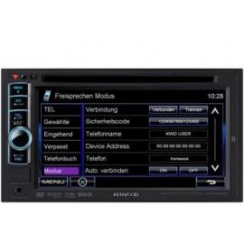 """Sintolettore DVD/USB doppio DIN 6.1"""" Wide VGA. Bluetooth integrato."""