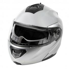 LA-1, casco modulare - Colore Argento lucido - Taglia XS Cod. 90660