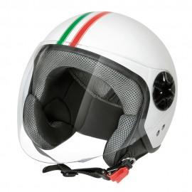 LD-3, casco demi-jet - Bandiera Italiana - taglia M COD. 90720