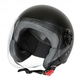 LD-3, casco demi-jet - colore Nero opaco - Taglia XS COD. 90722